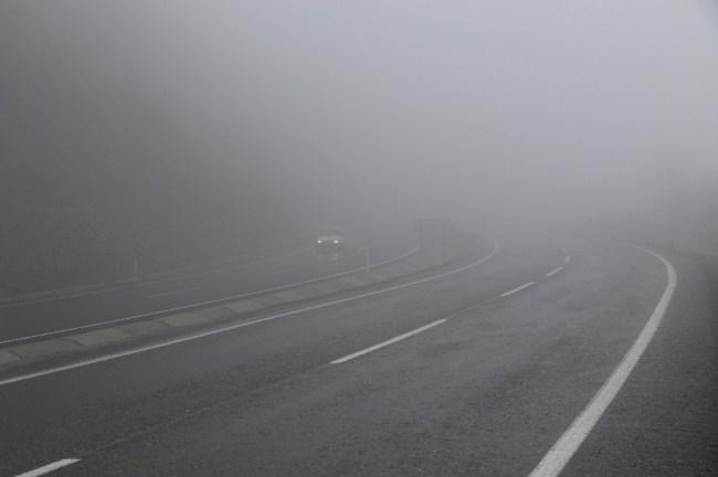 Zonguldak'ta Görüş mesafesi 5 metreye kadar düştü