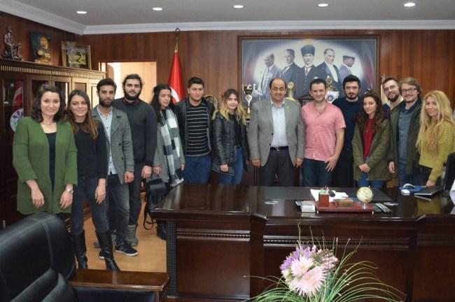 Öğrencilerden Demirtaş'a teşekkür ziyareti