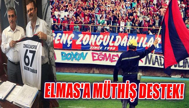 Elmas'a Müthiş destek!