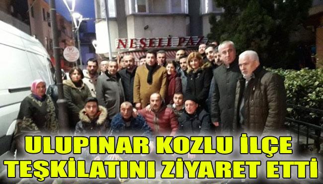 Ulupınar Kozlu ilçe teşkilatını ziyaret etti