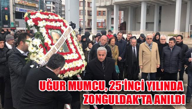 Uğur Mumcu, 25'inci yılında Zonguldak'ta anıldı