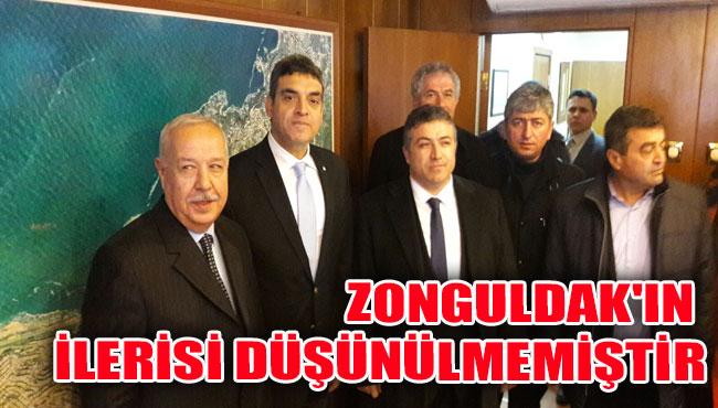 Zonguldak'ın İlerisi Düşünülmemiştir
