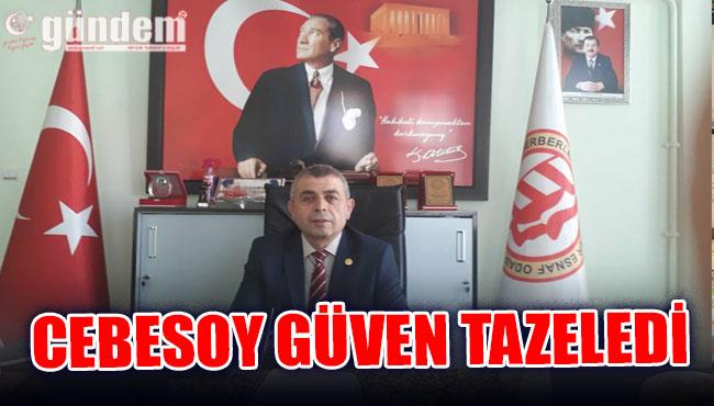 Murat Cebesoy güven tazeledi