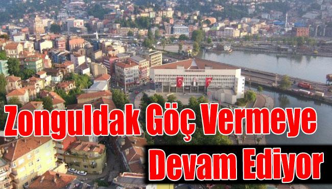 Zonguldak Göç Vermeye Devam Ediyor