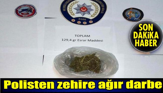 Polisten Zehire Ağır Darbe