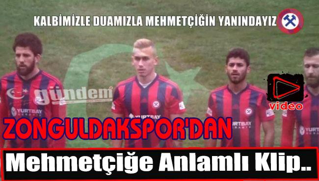 Zonguldakspor'dan Mehmetçiğe Anlamlı Klip..