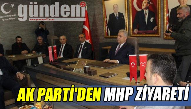 AK PARTİ'DEN MHP ZİYARETİ