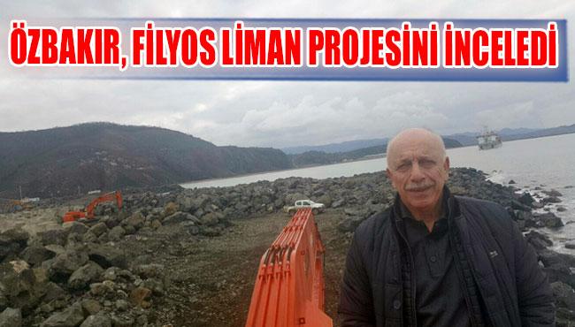 Özbakır, Filyos Liman projesini inceledi