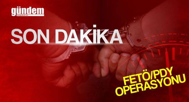 FETÖ operasyonu; 5 tutuklama...
