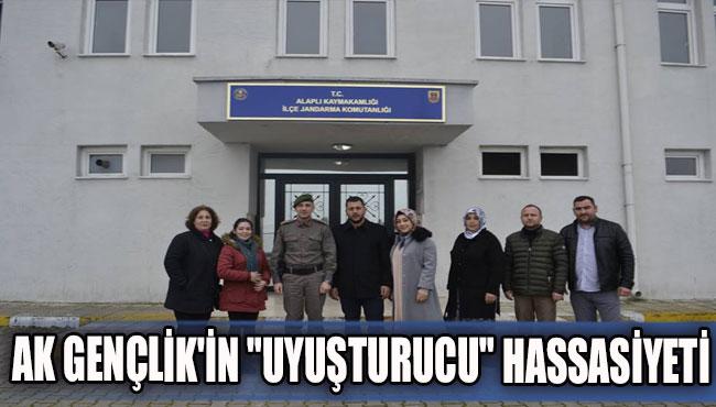 """AK GENÇLİK'İN """"UYUŞTURUCU"""" HASSASİYETİ"""