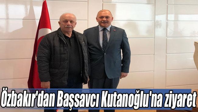 Özbakır'dan Başsavcı Kutanoğlu'na ziyaret