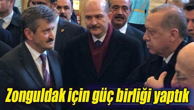 Zonguldak için güç birliği yaptık