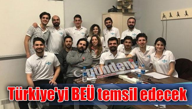 Türkiye'yi BEÜ temsil edecek