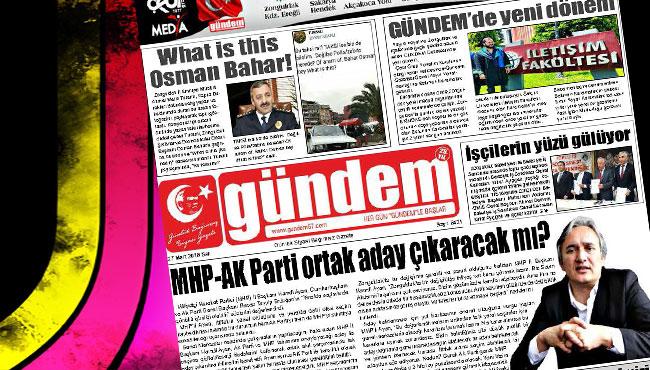 27 Mart 2018 Gündem Gazetesi