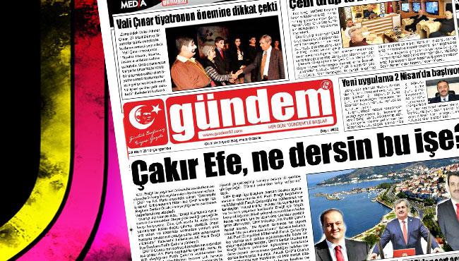 28 Mart 2018 Gündem Gazetesi