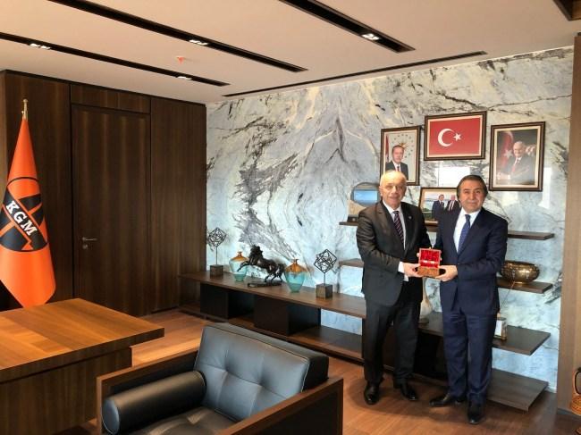 Başkan Özbakır, KGM'yi ziyaret etti