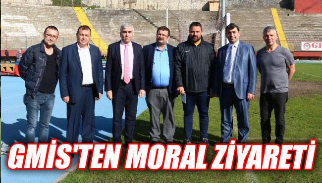 GMİS'ten moral ziyareti