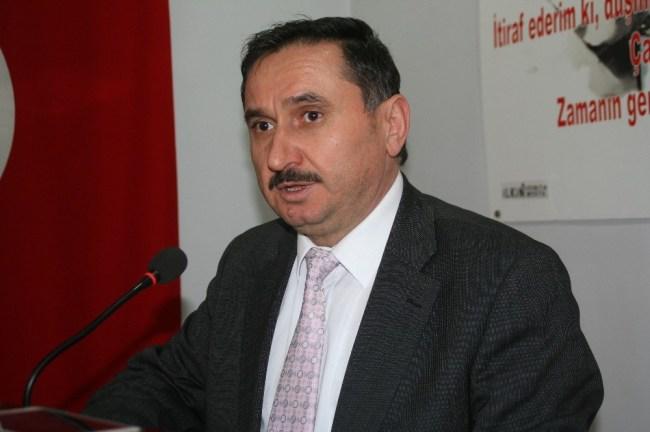 Civak, yeni başkan Hacıkulaoğlu'na başarılar diledi...