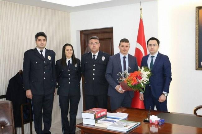 Gökçebey'de polis teşkilatının kuruluşu kutlandı