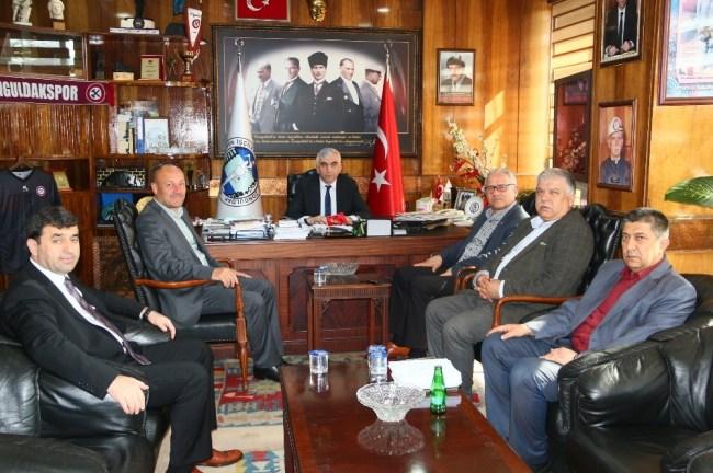 Başkan Çaylı, GMİS'i ziyaret etti