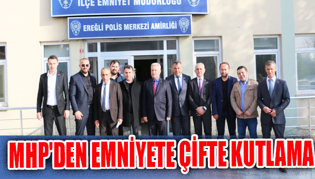 MHP'den Emniyete çifte kutlama