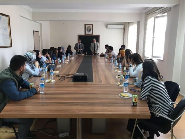 Öğrenciler Gökçebey'de ziyaretlerde bulundular