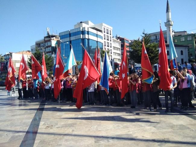 23 Nisan Bayramı Ereğli'de törenlerle kutlandı