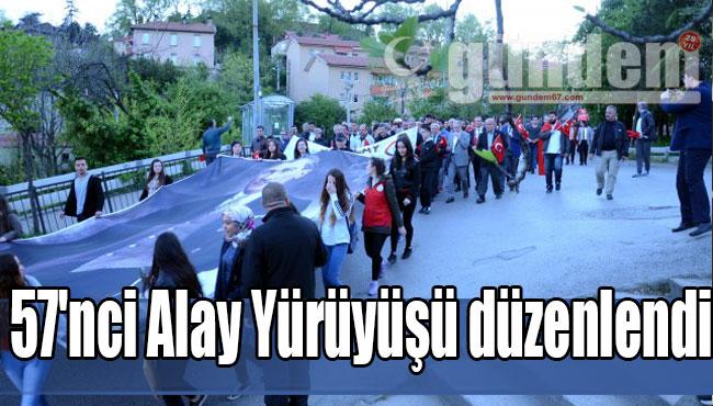 57'nci Alay Yürüyüşü düzenlendi