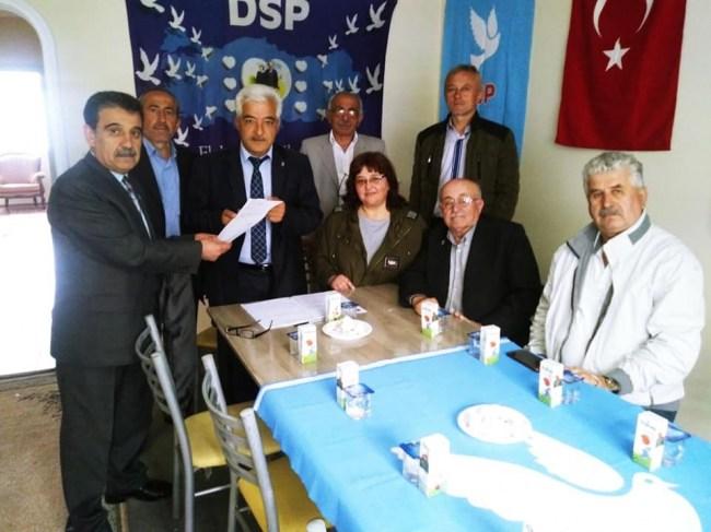 DSP İlçe yönetimi mazbata aldı