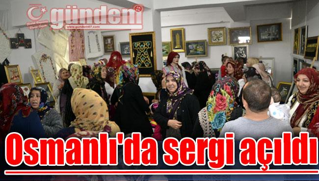 Osmanlı'da sergi açıldı