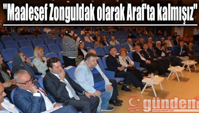 "Alagöz: ""Maalesef Zonguldak olarak Araf'ta kalmışız"""