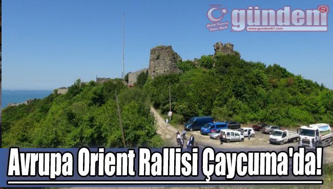 Avrupa Orient Rallisi Çaycuma'da!