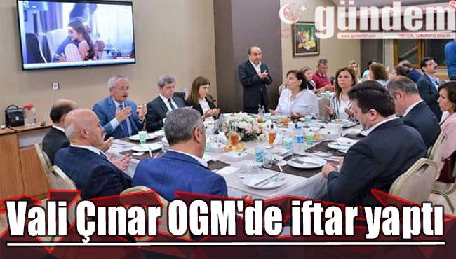 Vali Çınar OGM'de iftar yaptı