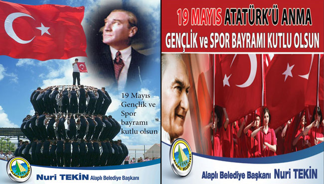 Başkan Tekin,19 Mayıs Gençlik ve Spor Bayramı Kutlu Olsun..