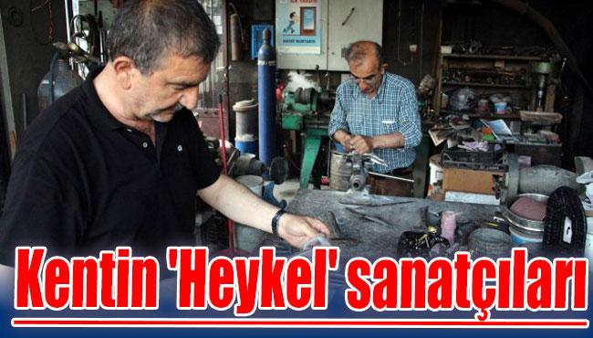 Kentin 'Heykel' sanatçıları