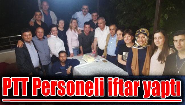 PTT Personeli iftar yaptı