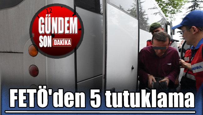 Zonguldak'ta FETÖ operasyonu: 5 tutuklama