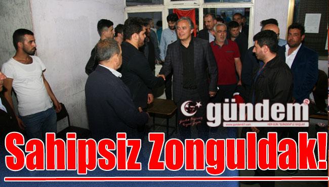 Sahipsiz Zonguldak!