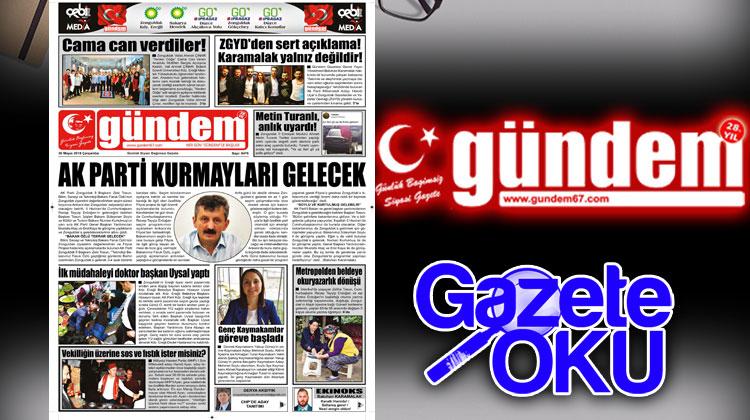30 Mayıs 2018 Gündem Gazetesi
