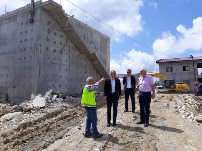 Başkan Cüneyt Yemenici yeni içme suyu arıtma tesisini yerinde inceledi