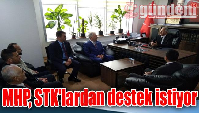 MHP, STK'lardan destek istiyor