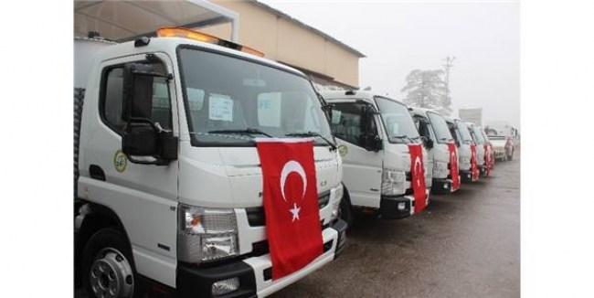 Düzce İl Özel İdaresi için 15 yeri araç alındı