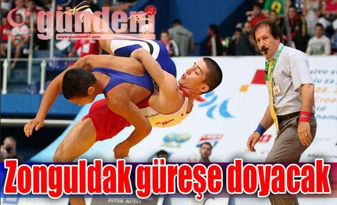 Zonguldak güreşe doyacak