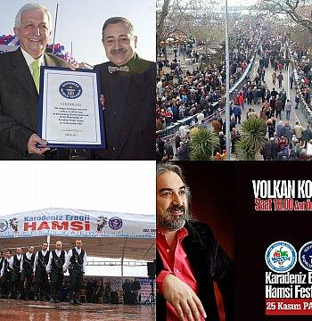 HAMSİ FESTİVALİ PROGRAMI BELLİ OLDU