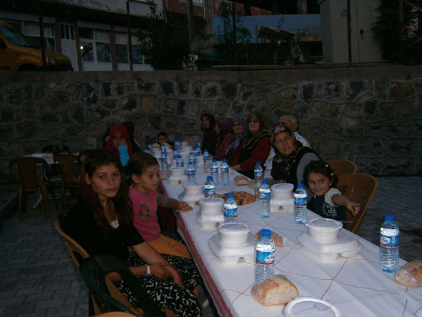 "CHP ""ORMALI'DA VATANDAŞLARLA BİR ARAYA GELDİ """