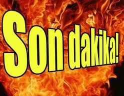 PARK HALİNDEYDİ, ALEV ALDI