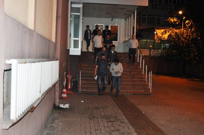 FETÖ/PDY  Karar;10 kişiden 5'i tutuklandı.