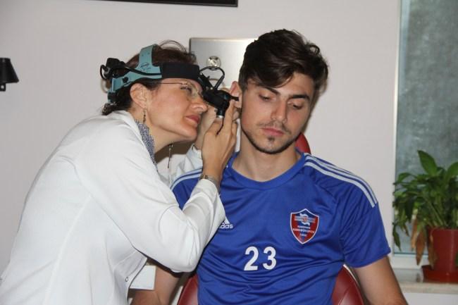 9 Futbolcu, Sağlık Kontrolünden Geçti.