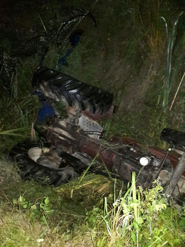 Traktör kazası Sonucu Sürücü;  hayatını kaybetti.