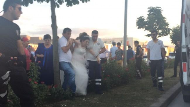 Düzce'de düğün konvoyundaki kavga